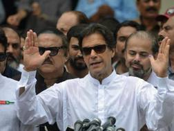 Imran Khan, 65 anni AFP