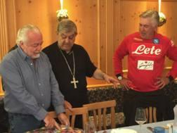 L'incontro a pranzo tra De Laurentiis, il Cardinale Sepe e Carlo Ancelotti
