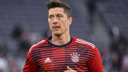 Robert Lewandowski. EPA