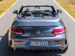 La Mercedes AMG C 63
