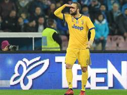 Gonzalo Higuain. Getty Images
