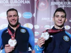 Jacopo Sandron (-60 kg) e Luca Svaicari (-97 kg) conquistano il bronzo ai Campionati Europei Juniores di Roma