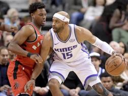 Vince Carter, 41 anni, in maglia Kings AP