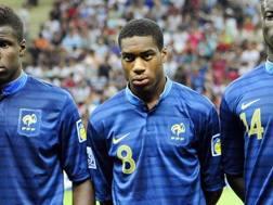 Geoffrey Kondogbia, 25 anni, centrocampista del Valencia. Afp