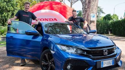 Matteo Piano e Filippo Lanza ambasciatori Honda