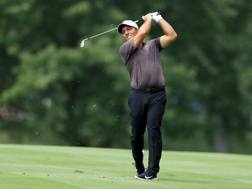 Francesco Molinari, torinese, 35 anni, impegnato al  Bridgestone Invitational