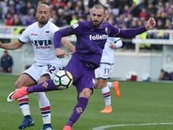 Riccardo Saponara, 26 anni, trequartista della Fiorentina. Ansa