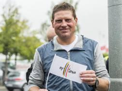 Un'immagine recente di Jan Ullrich, 44 anni, tedesco di Rostock, vincitore del Tour de France nel 1997 AP