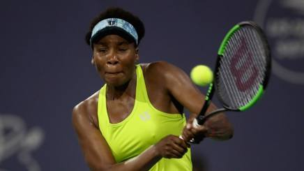Venus Williams, 38 anni, attualmente numero 14 del ranking WTA, sconfitta nei quarti in California AFP