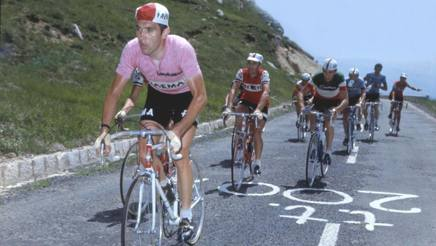 Eddy Merckx al Giro d'Italia del 1973. Bettini