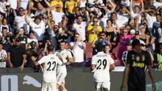 Real-Juve, Asensio e Bale piegano la Juve. E l'invasione diventa uno show!