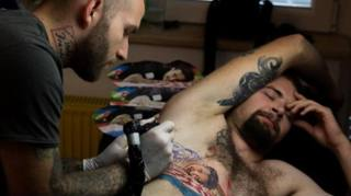 Il tatuaggio di Vrsaljko