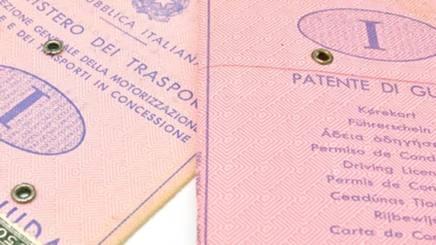 Le vecchie carte della patente di guida