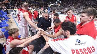 L'Olimpia Milano di coach Pianigiani nella scorsa stagione CIAMILLO