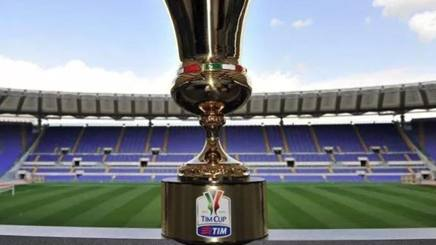 La coppa Italia. Getty