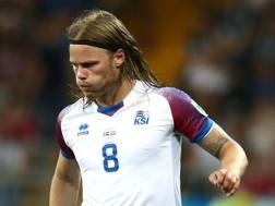 Birkir Bjarnason. Getty Images