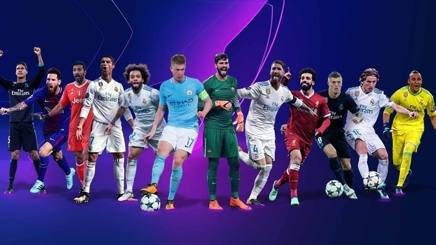 I finalisti del top team della Champions League. UEFA