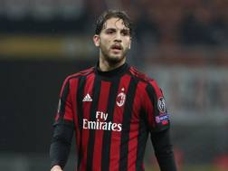 Manuel Locatelli , centrocampista del Milan GETTY IMAGES