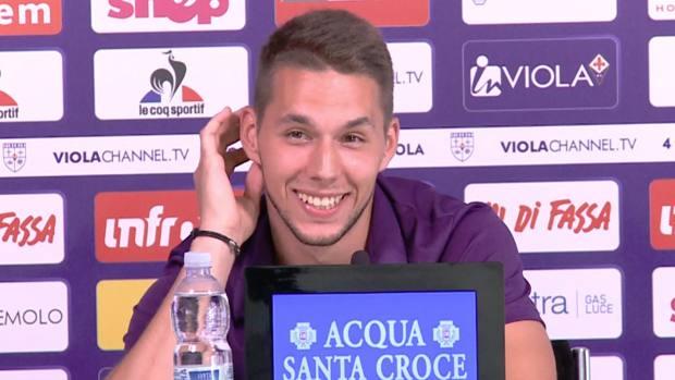 Fiorentina Pjaca Si Presenta Prendo La 10