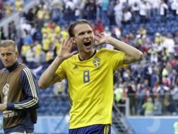 Albin Ekdal, 29 anni. AP