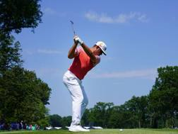 Gary Woodland, 34enne del Kansas, 3 vittorie nel Pga Tour, leader nell'ultimo Major stagionale AFP