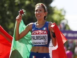 Antonella Palmisano, 27 anni compiuti lunedì, una delle tre azzurre con Trapletti e Giorgi in gara nella 20km di marcia AP