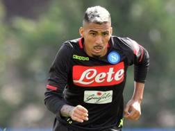 Allan, centrocampista brasiliano del Napoli. Lapresse