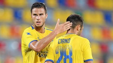 Crisetig e Ciano del Frosinone. Getty