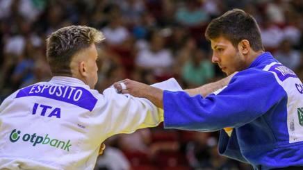 Giovanni Esposito nella finale per il bronzo con Margelidon (Can)