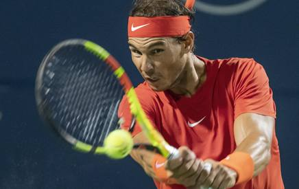 Rafael Nadal, 31 anni, numero uno del mondo EPA
