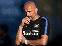 Luciano Spalletti, seconda stagione alla guida dell'Inter. Afp