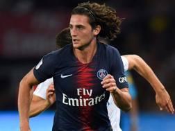 Adrien Rabiot, 23 anni, centrocampista del Psg. Afp