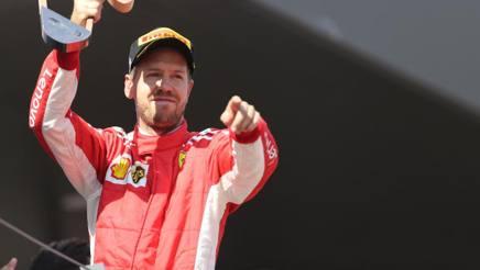 Sebastian Vettel. LaPresse