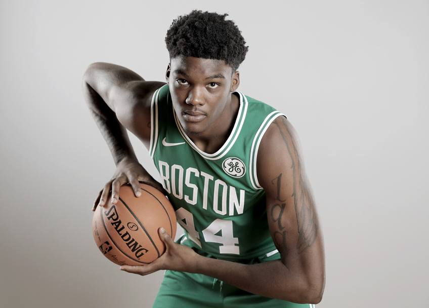 Robert Williams, nuovo centro di Boston. I Celtics lo hanno pescato alla 27