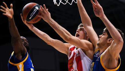 Nikola Radicevic, 24 anni, nell'ultima stagione al Gran Canaria AFP