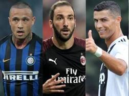 Nainggolan, Higuain, Cristiano Ronaldo, N'Zonzi: che colpi nell'estate della Serie A!