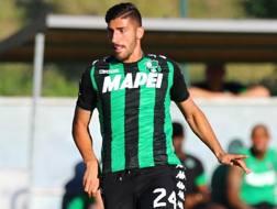 Marcello Trotta, attaccante in forza al Sassuolo. Lapresse