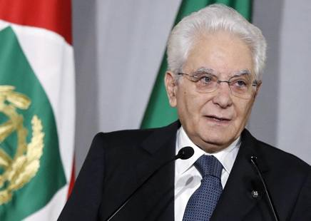 Il presidente della Repubblica Sergio Mattarella, 77 anni: Al Quirinale dal 3 febbraio 2015 ANSA