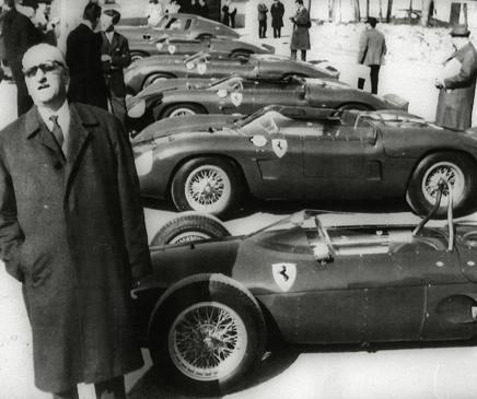 Enzo Ferrari (1898-1988) ANSA