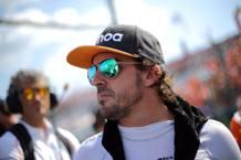 Fernando Alonso, 37 anni, spagnolo, 2 volte campione del mondo con la Renault LAPRESSE