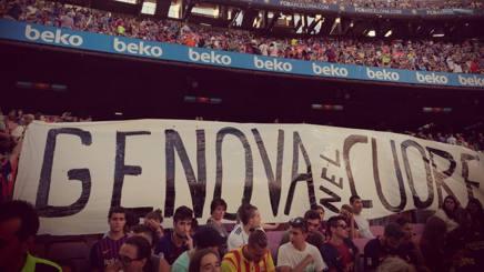 Messi esulta dopo il gol del 2-0. AFP
