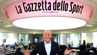 Arrigo Sacchi, 72 anni. Fabio Bozzani