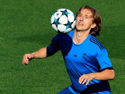 Luka Modric, centrocampista croato del Real Madrid. Getty