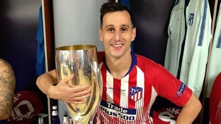 Nikola Kalinic, attaccante dell'Atletico Madrid Instagram