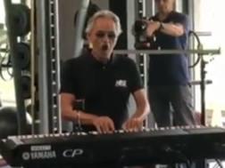Andrea Bocelli ad Appiano Gentile