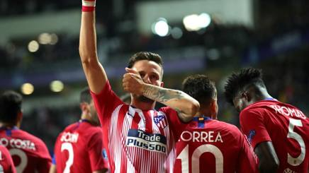 Saul Niguez. Getty Images