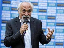 Alfio Giomi, presidente della federatletica dal dicembre 2012. Ansa