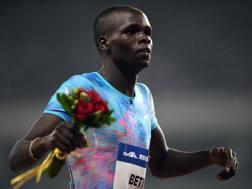 Kipyegon Bett, 20 anni, bronzo mondiale negli 800 a Londra 2017. Afp