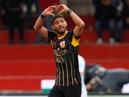 Achraf Lazaar, 26 anni, in arrivo al Genoa dal Newcastle. Afp