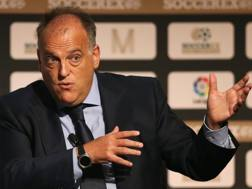 Javier Tebas, presidente della Liga. Getty Images